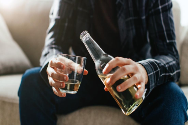 Alcohol Depression: The bottle may be increasing the Depression.